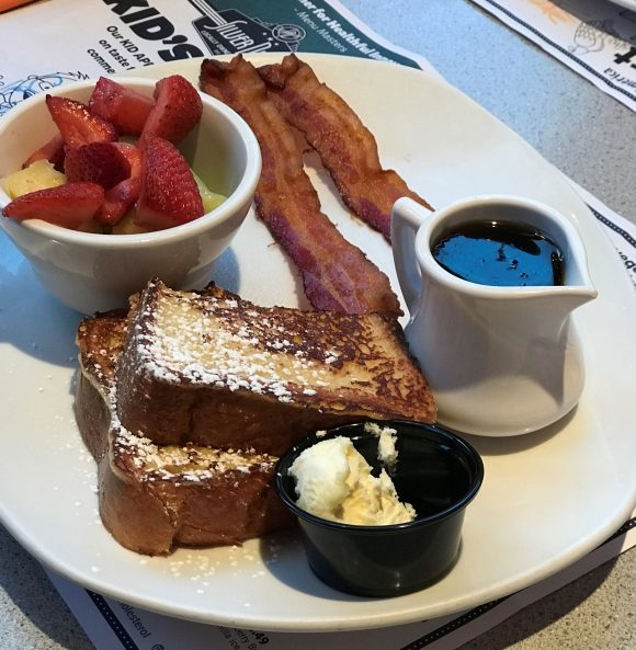 Challah French Toast at Silver Diner in Cherry Hill