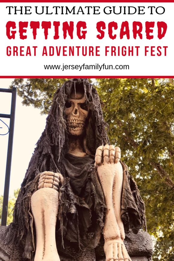 ultimate guide to scary activities at fright fest at Six Flags Great Adventure