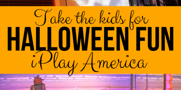 take the kids to iplay america for halloween fun in Central Jersey (pinterest image)