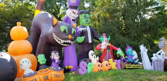 Halloween Inflatable Village in Wayne