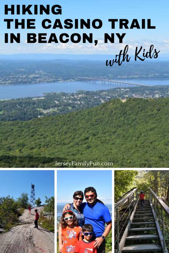Hiking the Casino Trail in Beacon NY with Kids - Pin