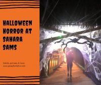 How Scary is Halloween Horror at Sahara Sam's_
