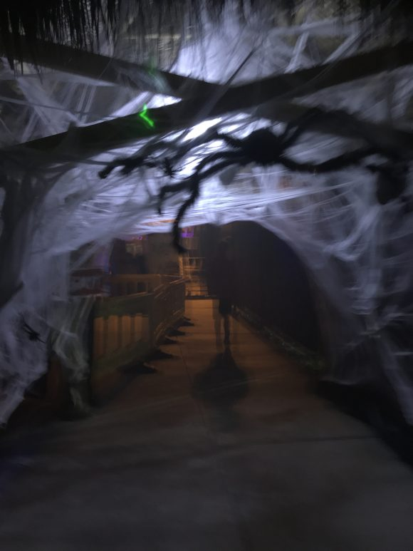 Boon Town at Sahara Sams Halloween Horror is one of three scary zones.