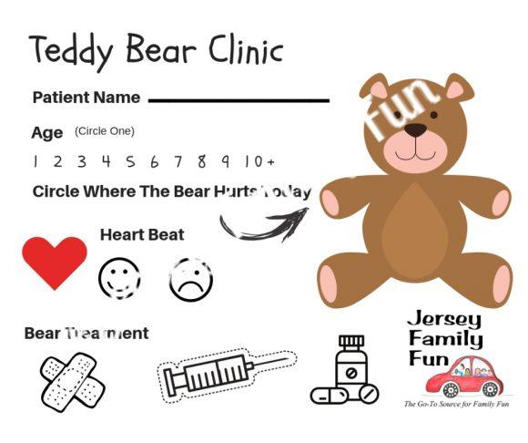 Jersey Family Fun Teddy Bear Clinic SAMPLE