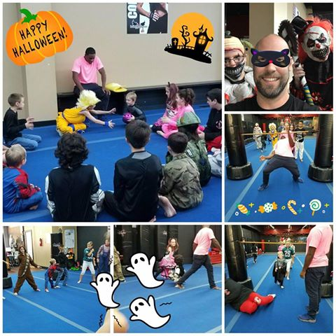 Ultimate Martial Arts & Kickboxing Halloween party