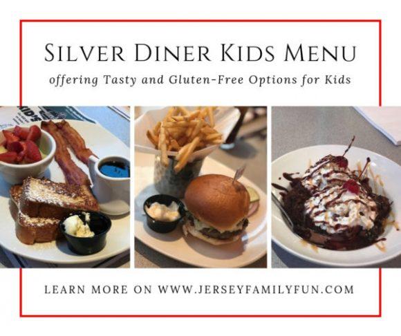 Silver Diner Kids Menu