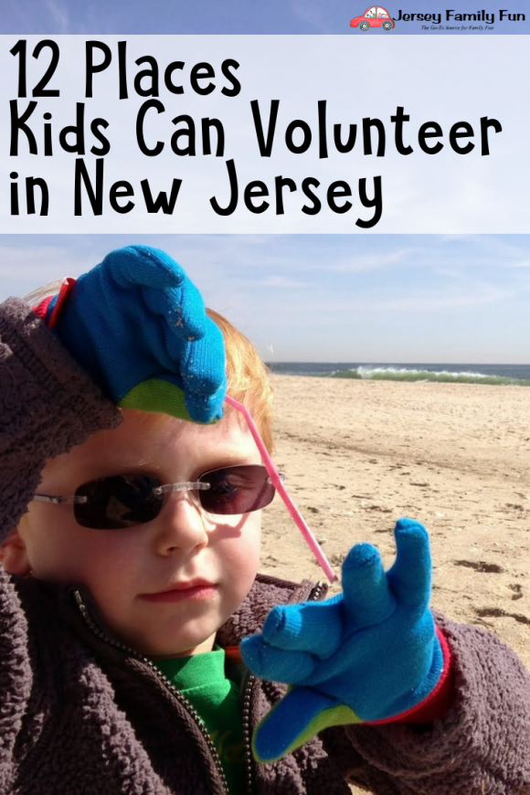 12 Places Kids Can Volunteer in New Jersey - Pin