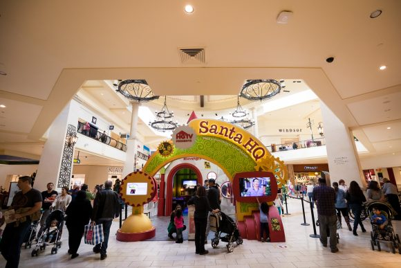 HGTV Santa HQ at Freehold Raceway Mall