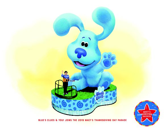 Blues Clues & You new Float at the Macy's Thanksgiving Day Parade