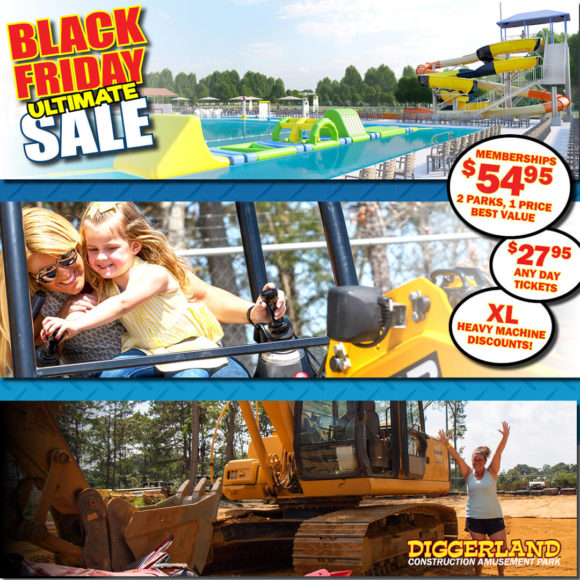 Diggerland USA Black Friday Offers