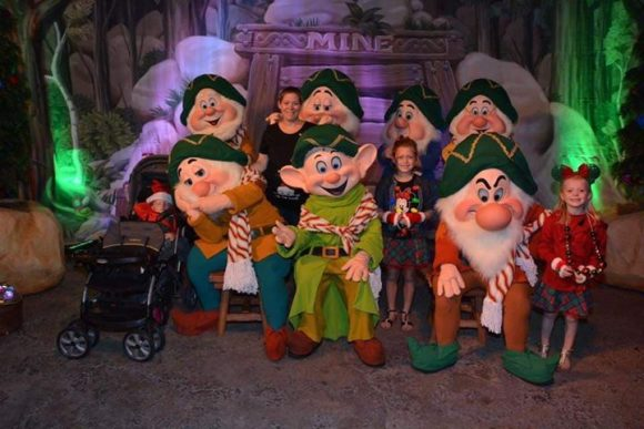 Disney World Christmas Mickeys Very Merry Christmas 7 dwarfs