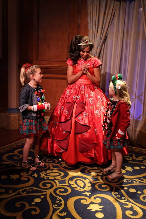 Disney World Christmas Mickeys Very Merry Christmas princess elena