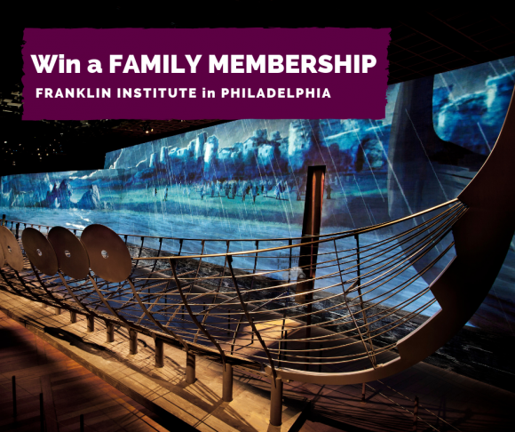 Franklin Institute family membership Giveaway