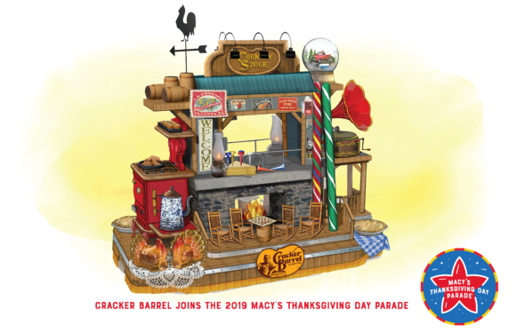 New Cracker Barrel Float at the Macy's Thanksgiving Day Parade