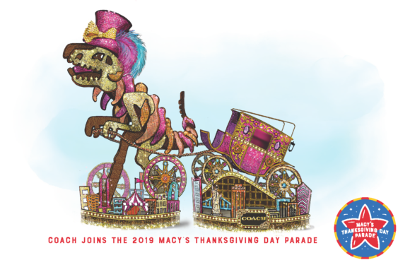 Rexy in The City By Coach Joins The Macy's Thanksgiving Day Parade as a new float