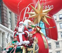 macys Thanksgiving parade santa