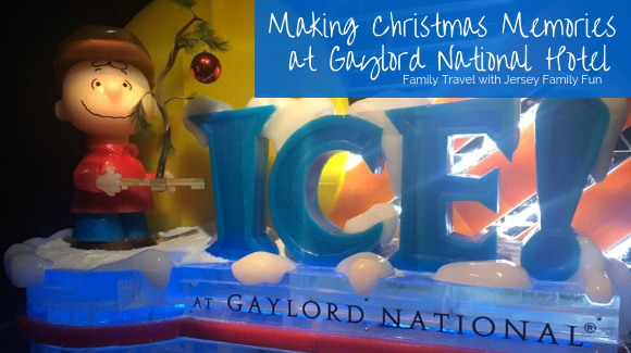 Make New Christmas Memories at Gaylord National Hotel ICE! Charlie Brown Christmas