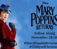 Mary Poppins Returns press junket