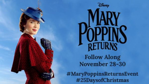 Mary Poppins Returns press junket