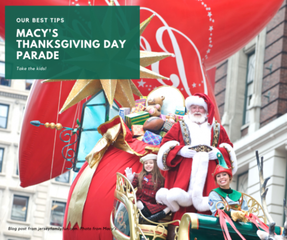 image of santa at the Macy's thankgiving day parade