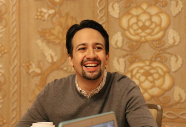 Lin-Manuel Miranda interview with Disney Bloggers during Mary Poppins Press Junket