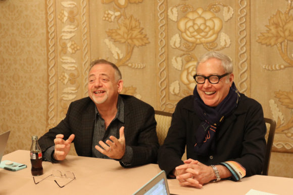 Disney Mary Poppins Returns Composers Marc Shaiman & Scott Wittman