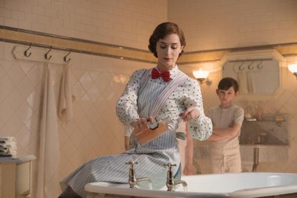 Mary Poppins Returns bath tub scene