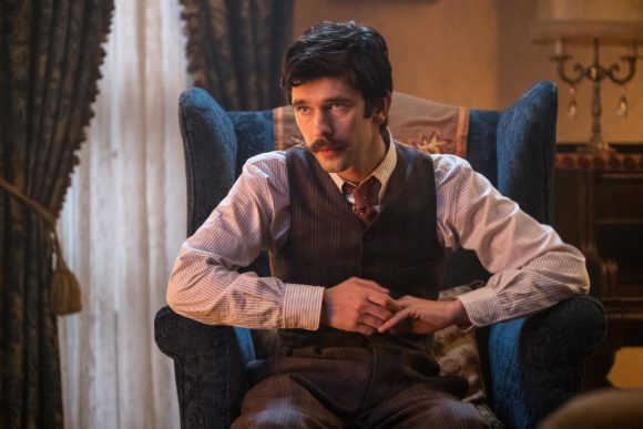 Ben Whishaw is Michael Banks in Disney's MARY POPPINS RETURNS, a sequel to the 1964 MARY POPPINS, which takes audiences on an entirely new adventure with the practically perfect nanny and the Banks family.