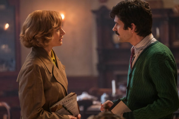 Ben Whishaw and Emily Mortimer Mary Poppins Returns