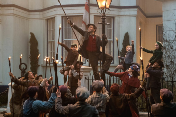 Mary Poppins Returns Trip A Little Light Fantastic musical number is one that had audiences applauding loudly.