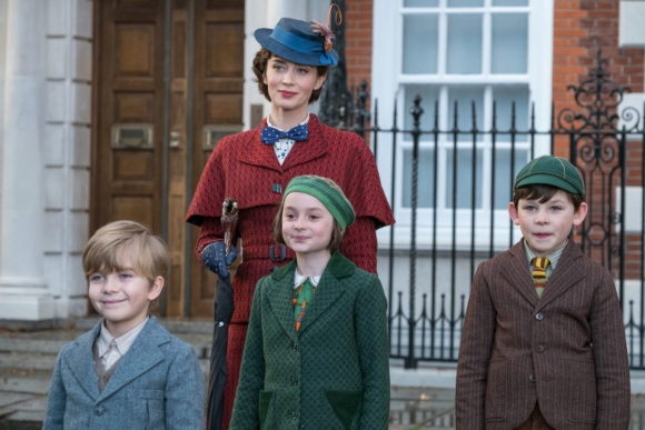 Mary poppins returns cast banks children