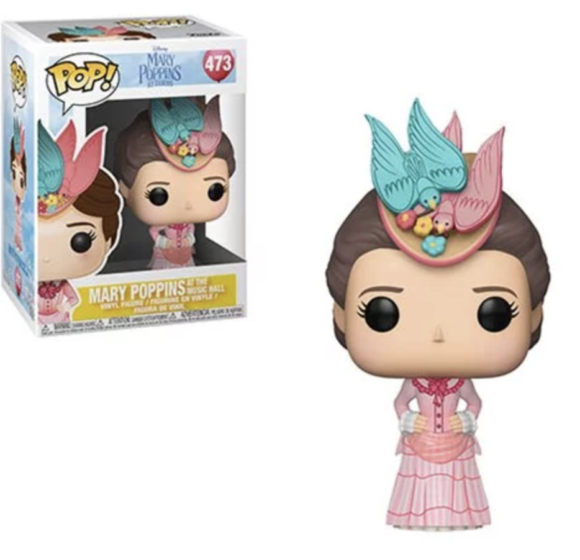 Mary Poppins Returns Mary Pink Dress Pop! Vinyl Figure