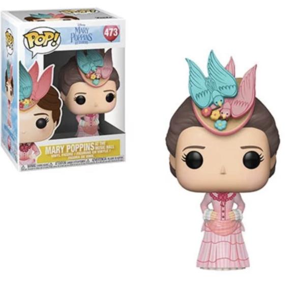 Mary Poppins Returns Mary Pink Dress Pop! Vinyl Figure