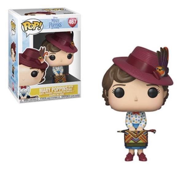 Mary Poppins Returns Mary with Skirt Bag Pop! Vinyl Figure