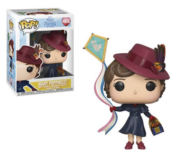 Mary Poppins Returns Mary with Kite Pop! Vinyl Figure