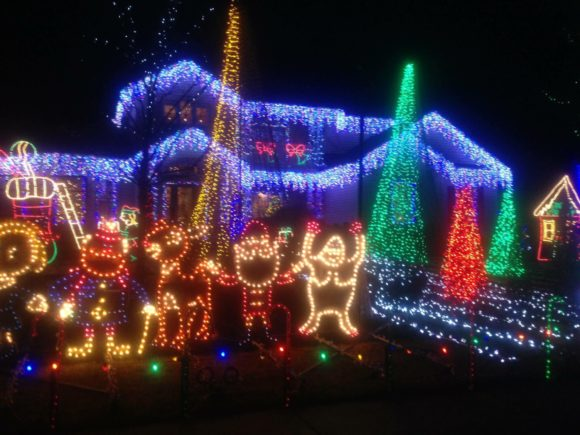 Sooy Lane Christmas Lights in Absecon New Jersey
