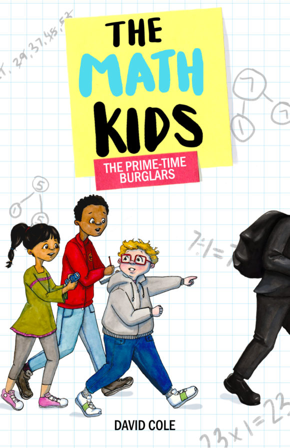 The Math Kids The Prime-Time Burglar is a chapter book with a fun math twist.