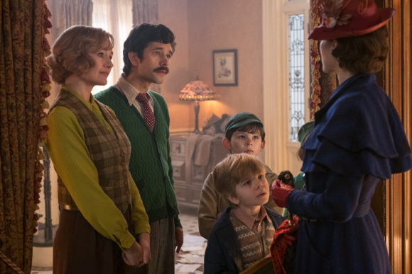 Mary poppins returns cast banks family