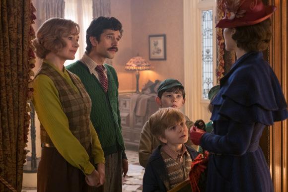 Mary poppins returns cast banks family