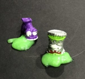 2 of the Zuru Smashers Series 2 – Gross figures from the Smash Trash collection.