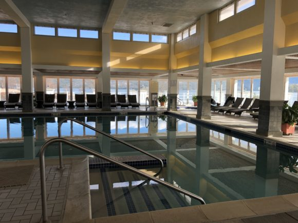 The Sagamore Resort at Lake George offers a heated indoor pool and hot tub.