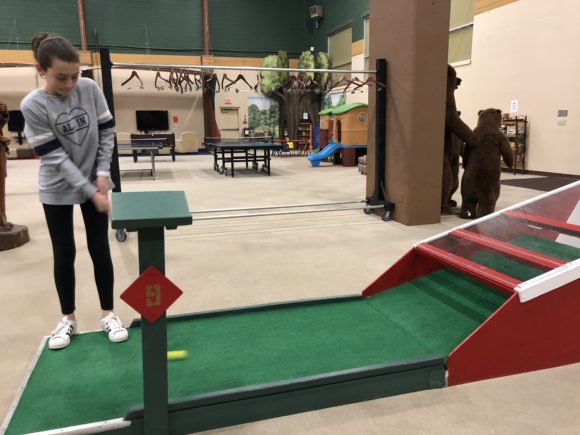 The Sagamore Resort at Lake George offers a large indoor recreation center including mini golf