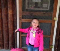 Makayla on her first visit to Camp Mason, a New Jersey sleepaway camp