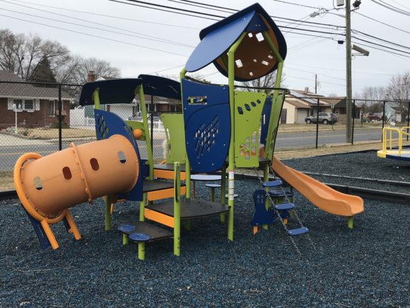 The Scott E Merulla Playground in Bellmawr offers a preschool area for kids ages 2-5 years old.