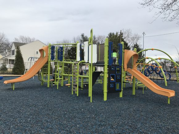 The Scott E Merulla Playground in Bellmawr also features a playground for kids ages 5-12.