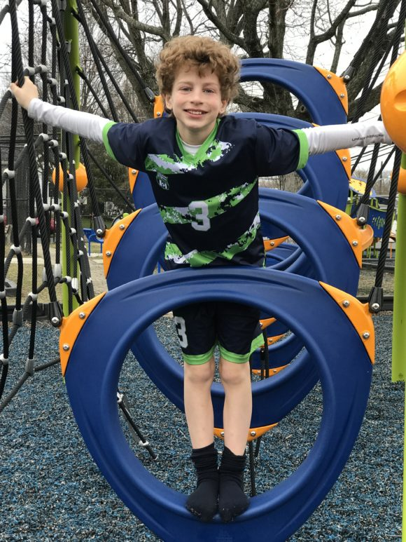 Scott E Merulla Playground in Belmar O-Zone Climber