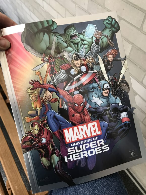 Encyclopedia of the Marvel Universe of Super Heroes at the Franklin Institute