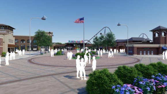 Hershey's Chocolatetown Entry Plaza
