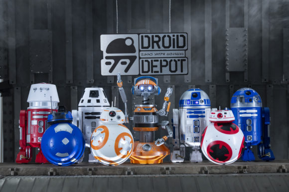 Star Wars: Galaxy's Edge Merchandise Custom Droids available at the Droid Depot.
