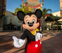 Disney world Mickey Mouse at Hollywood studios
